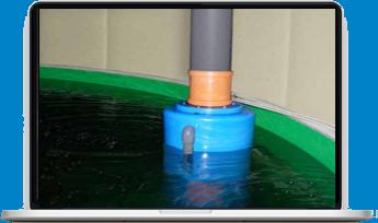 Плавающий или стационарный оксигенатор