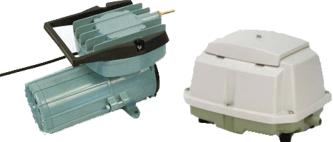 Воздушные компрессоры и диффузоры для перевозки живой рыбы