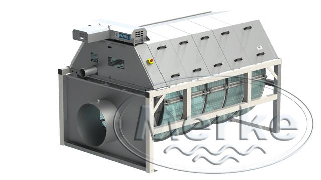 Механический барабанный фильтр серия  160